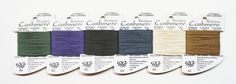 Rainbow Cashmere Yarn 5.80 Each Cashmere by terrymillerdesigns