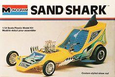 Monogram Sand Shark - modified molds of the Dog Catcher kit