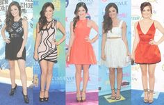 Lucy Hale. TCA through years.