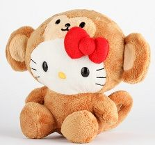 valentines day cat plush