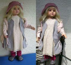 Götz Puppe 58 cm April aus 2004/300 Hildegard Günzel Künstlerpuppe Gotz Doll | eBay