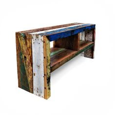 Shop for Ecologica Bold Media Console. Get free delivery On EVERYTHING* Overstock - Your Online Children's Clothing Outlet Store! Media Consoles, Painted Furniture, Diy Furniture, Furniture Design, Home Projects, Home Crafts, Wooden Projects, Tv Cabinets, Storage Spaces