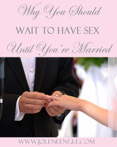 is it right to have sex before marriage