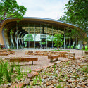 Built by Allen Jack+Cottier Architects in Brooklyn, Australia Allen Jack+Cottier adopted an imaginative approach to materials, structure and form when designing this multi-purpose. Sports Stadium, Architects, Pergola, Indoor, Outdoor Structures, Island, Building, Design, Living Room
