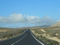 une des nouvelles route de l'île.
