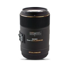 Sigma 105mm f2.8 Macro EX DG OS HSM - Canon Fit  Again the canon is probably better but twice the price