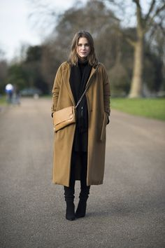Lovely Long Winter Coats for Women : Womens Long Coats For Fall Winter2