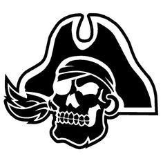 Pirate Skull Laptop Car Truck Vinyl Decal Window Sticker PV228