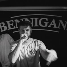 MC and Irish Rap promoter @dannydiatribe performing at @bennigans.bar a few weeks ago. Podcast from the night uploading soon. . . #derry #northernireland #twitter #dmfotoni #music #ireland #londonderry #rapper #irish #hiphopmusic #eire #belfast #newmusic #livemusic #beats #live #songwriter #hiphopculture #rap #producer #dj #ireland_gram #insta_ni #singer #instamusic #soundcloud #rappers #musician #irishpassion #rapmusic
