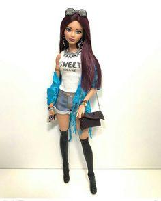 Doll Clothes Barbie, Barbie Stuff, Barbie I, Barbie World, Barbie Tumblr, Barbies Pics, Made To Move Barbie, Summer Outfits, Girl Outfits