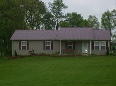 red metal roof tan siding | Click Pictures to Enlarge!