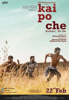 "Based on Chetan Bhagat's bestselling novel ""The 3 Mistakes of My Life"", Kai Po Che (m"