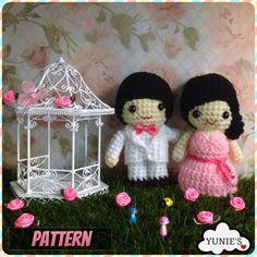Hey, I found this really awesome Etsy listing at https://www.etsy.com/listing/205760731/crochet-pattern-doll-wedding-amigurumi