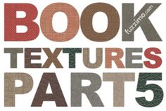 """""""Free Hi-Res Old Book Textures – part 5"""" -- Click through for downloadable beautifully aged book covers, spines, pages, and more. Links for parts 1 to 4 are also embedded in the post."""