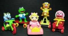 muppet babies happy meal toys circa 1980s