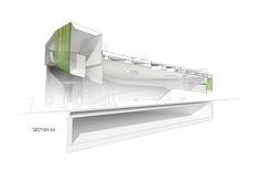 Competition Entry: Saucier + Perrotte Designs Glass Pavilion for Montreal Botanical Garden,© Saucier + Perrotte Architectes / Luxigon / Michel Desvigne Paysagiste