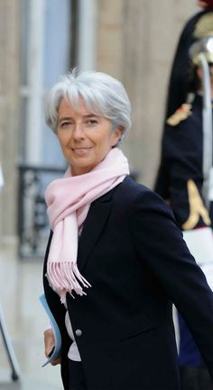 Christine Lagarde of the IMF.