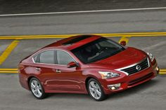 The Nissan Altima set an April record with 25,004 sales.