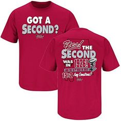 Alabama Crimson Tide Fans. Got a Second? Crimson T-Shirt (S-4X)