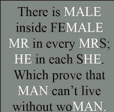 she and he