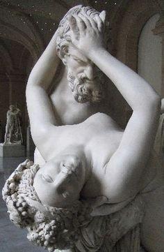 James Pradier, Satyre et bacchante, 1833