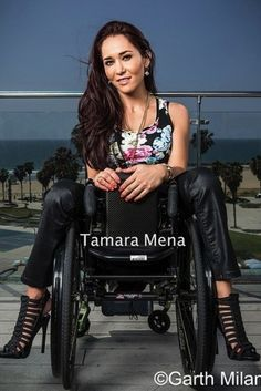 Tamara Mena, Motivational Speaker, Model and Wheelchair User on Staying Positive and Advocating for a Cure for Spinal Cord Injuries. >>> See it. Believe it. Do it. Watch thousands of spinal cord injury videos at SPINALpedia.com