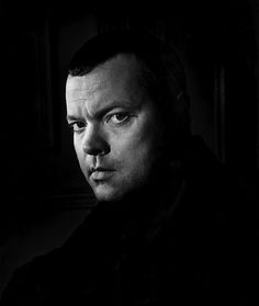 """Orson Welles, London, 1951 -by Jane Bown [+] [+] """" A film is never really good unless the camera is an eye in the head of a poet. Distributors, naturally, are all of the opinion that poets don't sell..."""