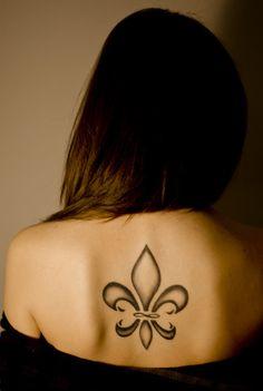 Fleur-de-Lis - Love the shading!