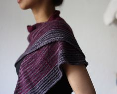 Daybreak shawl by Stephen West