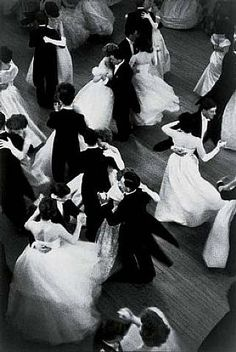 """Queen Charlotte's ball"" by Henri Cartier-Bresson, 1959"
