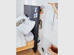 Tête de lit en panneau d'OSB, à partir de 62,50 €