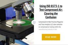 Using ISO 8573-1 to Test Compressed Air: Clearing the Confusion