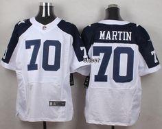 NFL Dallas Cowboys #70 Martin white Thanksgiving Jersey