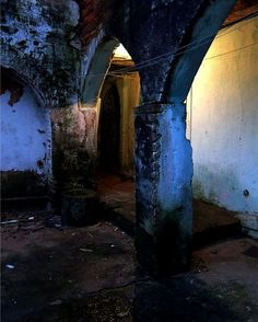 corridors to the dungeon Photo by Lauro Winck -- National Geographic Your Shot