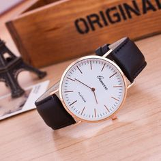 36cf1267a7a Watch Leather Vintage With Quartz Wood Retro Quality High Women Men For  Watches Wooden Unisex Fashion Brand