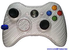 KwikBoy Modz - White-Out Carbon Fiber Xbox 360 Controller, $79.99 (http://www.kwikboymodz.com/white-out-carbon-fiber-xbox-360-controller/)