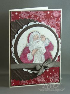 Stampin' Up! Christmas by Mae Collins: