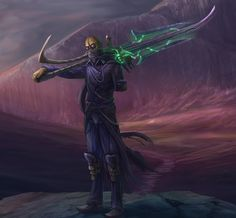 Naktis, a Learned Glaive