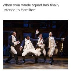 Hamilton musical Need to get the squad to listen! Hamilton Soundtrack, Hamilton Broadway, Hamilton Musical, Theatre Nerds, Musical Theatre, Theater, Broadway Theatre, Fandoms, Super Memes
