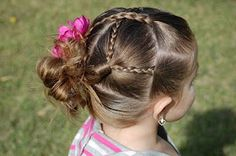 ALL THINGS SNAPBANDZ: 4 braids+2 braids+1 messy bun