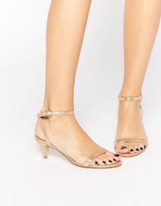 ASOS+HONEYDEW+Heeled+Sandals