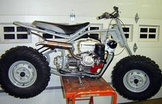 Hidrostática motocicleta 2 Wheel Drive