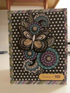 Thinking of You Card (Hot off the Press)
