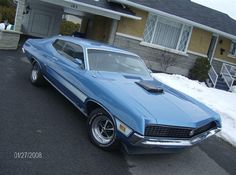 1970 Ford Torino GT.... With The Correct Shaker Scoop.