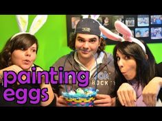 Painting Easter Eggs with Special Guest! | The Bucket List
