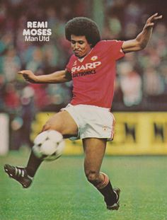 Remi Moses of Man Utd in Manchester United Players, Premier League Champions, Best Club, Old Trafford, Europa League, Fa Cup, Man United, S Man, The Unit