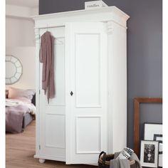 landhaus schrank, schrank antik, Kleiderschrank Weiß