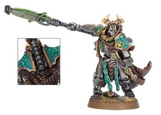 Necron Overlord, resplendent and deadly.