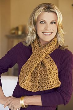 Ravelry: Elemental Crochet Scarf pattern by Lion Brand Yarn