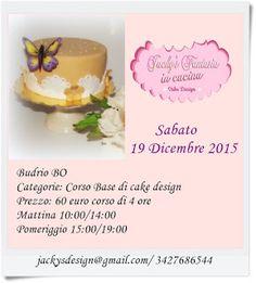 CORSI CAKE DESIGN BOLOGNA: CORSI CAKE DESIGN  BUDRIO (BO): NEWS (corsi in pro...